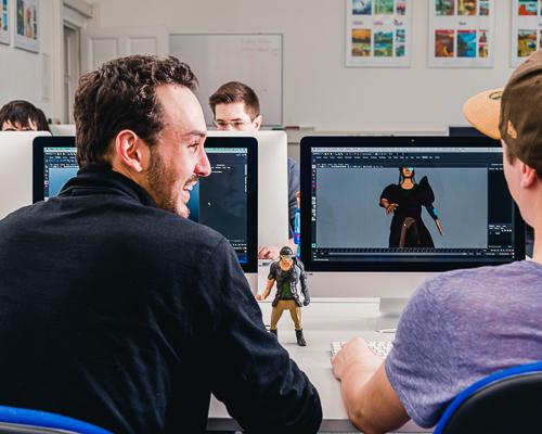 Schüler 3D Animation
