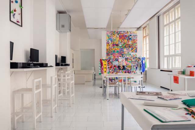 Designarbeiten im White Room