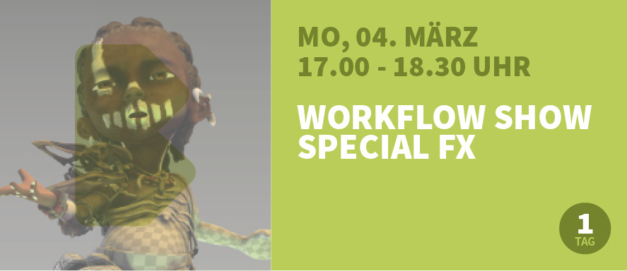 Workflow Show Special FX