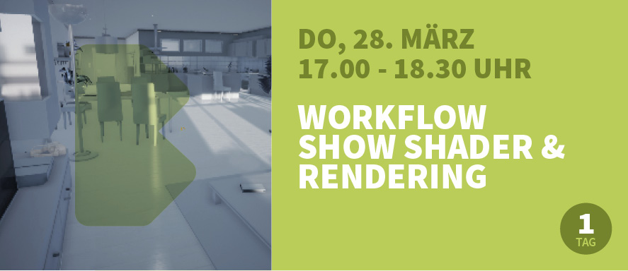 Workflow Show Shader & Rendering