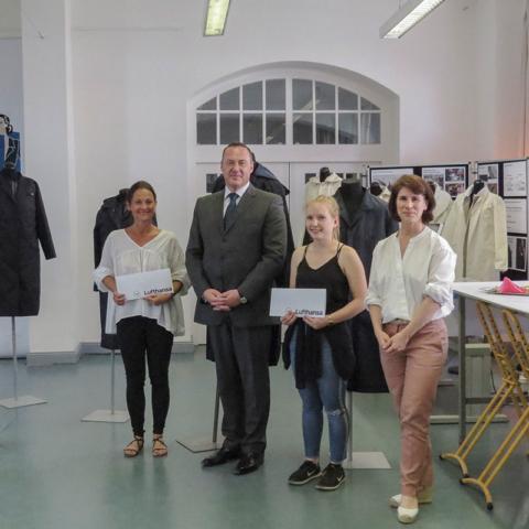 Die Finalpräsentation und die Gewinnermodelle des Lufthansa-Projekts